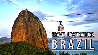 5 Places To Visit In Brazil | Top Tourist Attractions In Brazil 2019!