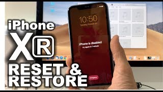 How To Reset & Restore your Apple iPhone XR - Factory Reset