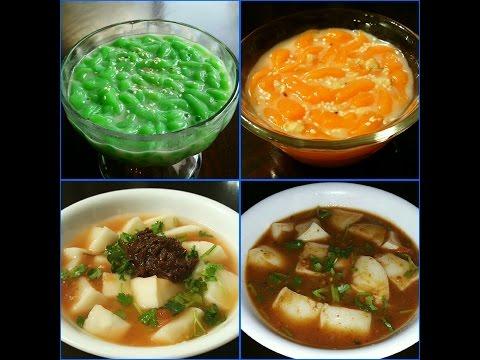 Kalangfen *KLF* & Numvanh/Kao lott songh *sweet flour dessert*
