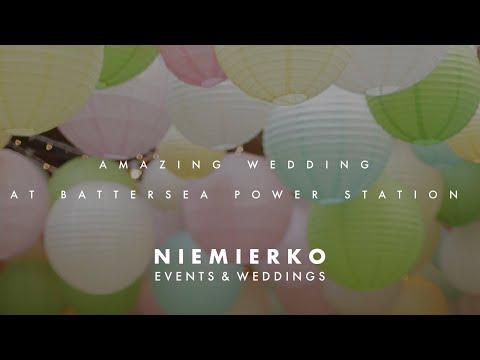 Amazing Battersea Power Station wedding. Must see wedding! By Niemierko wedding planners
