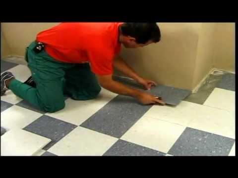 Pisos vinilicos instalacion facil youtube - Como poner baldosas en el piso ...