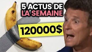 La grève qui va durer, une banane qui coûte 120K$, Juice Wrld... 5 actus de la semaine
