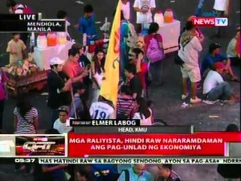 QRT: Iba't ibang grupo, nagtipun-tipon para ipanawagan ang pagresolba sa  mga isyu ng lipunan