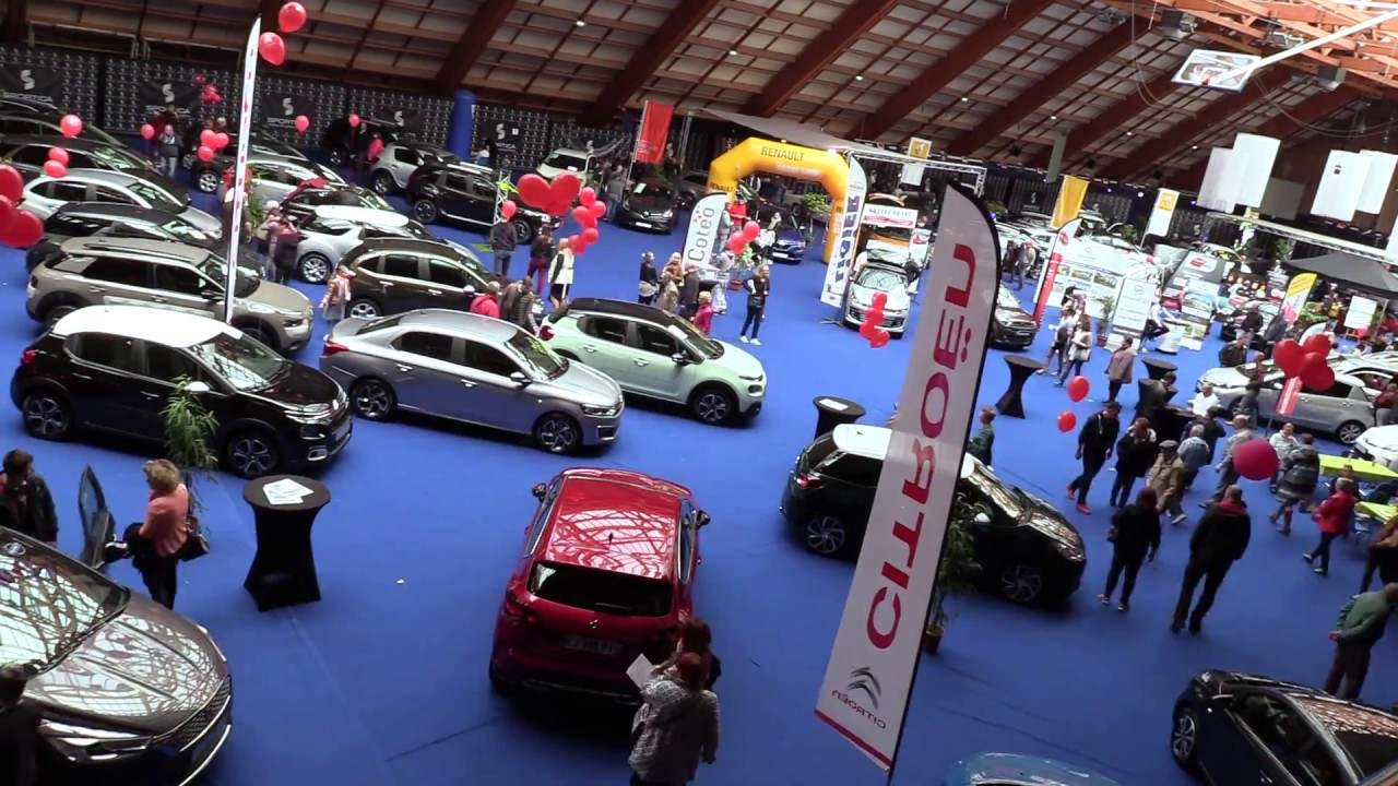 salon de l 39 auto 2017 youtube