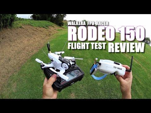 WALKERA RODEO 150 FPV Race Drone Review - Part 2 - [Flight/CRASH Test, Pros & Cons]