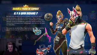 I'm BUYING ALL THE COMBAT OF SAISON 5 FORTNITE
