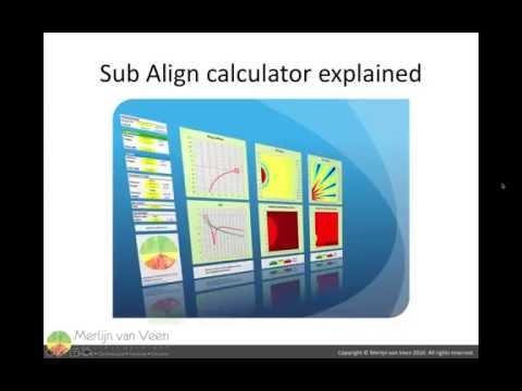 Sub Align calculator explained