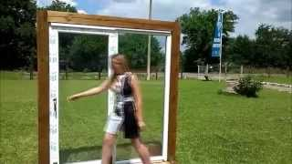видео Регулировка прижима створки пластикового окна