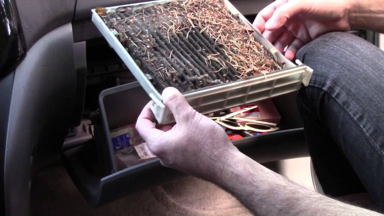 2005 Toyota Sienna Easy Cabin Air Filter Replacement Youtube