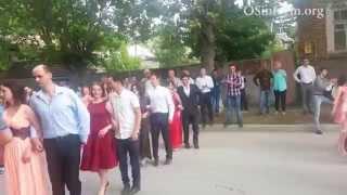 Осетинская свадьба в Южной Осетии