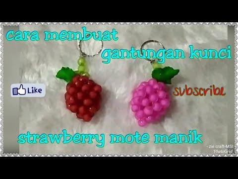 How to Make Beads Flowers || Cara Membuat Bunga Manik-Manik.