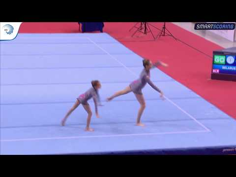 REPLAY: 2017 ACRO EAGC, FINAL 11 - 16 Women's Groups balance and Women's Pairs dynamic