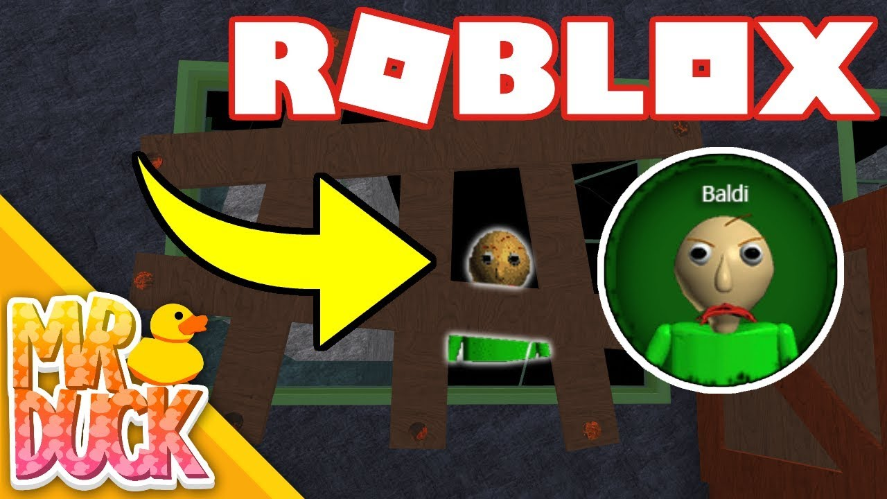 Roblox Granny How To Get Baldi Basic Easter Egg Badge Youtube