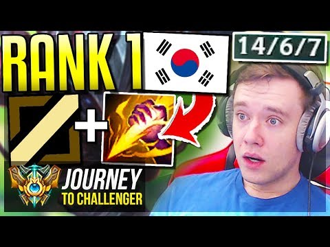 NEW RANK 1 KOREA META VS MOE & STYLISH SMITE MID TALON Journey To Challenger  League of Legends