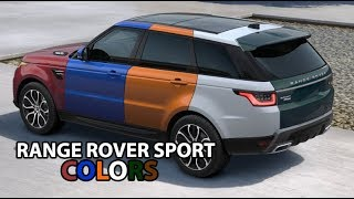 New Range Rover Sport (2018) AMAZING COLORS!!