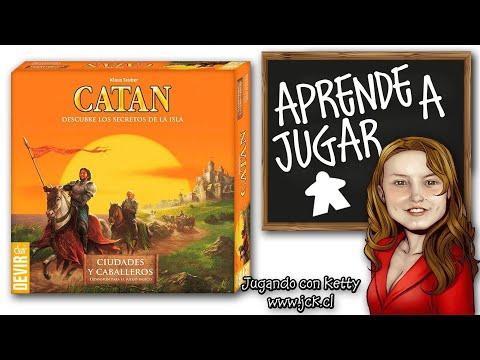Colonos de catan ciudades y caballeros juego de mesa boardgame youtube - Catan juego de mesa ...