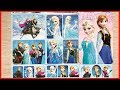Đồ chơi dán hình công chúa Elsa Anna nữ hoàng băng giá, 100 hình dán, Sticker Elsa Anna (Chim Xinh)