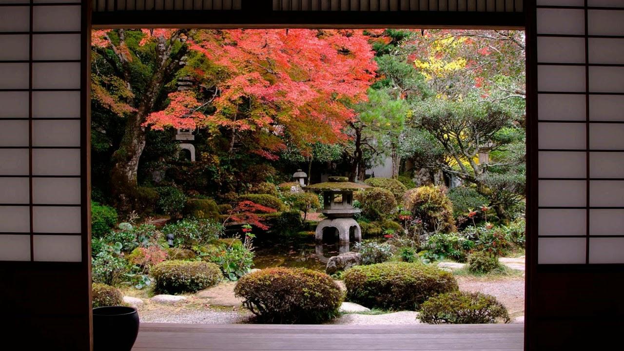 Japanese Zen Garden - Flute & Meditation - YouTube