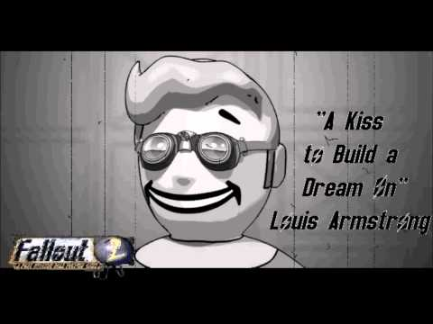 give me kiss kiss клип. Слушать песню Louis Armstrong - Give Me A Kiss To Build A Dream On (OST fallout 2)
