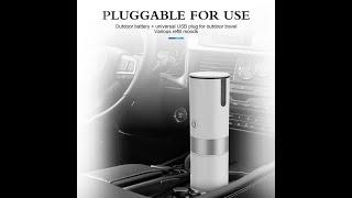 휴대용 커피메이커 배터리 호환캡슐 원두 파우더 에스프레…