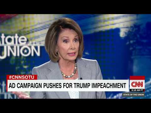 Pelosi on impeaching Trump: Not somewhere we should go