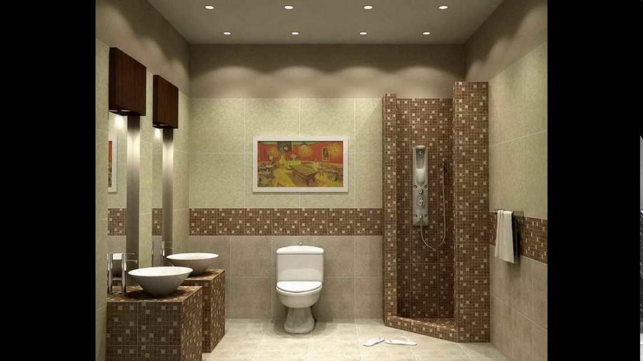 small bathroom design no window  youtube