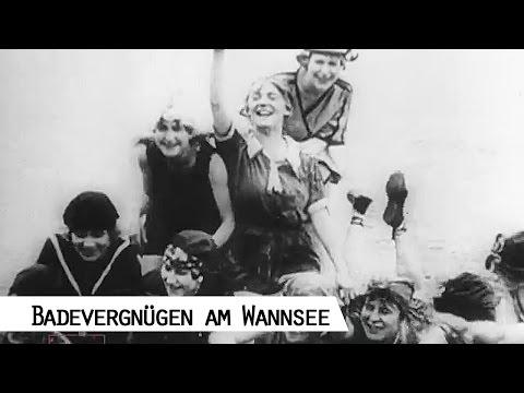 Sommer in Berlin - Baden im Wannsee seit 1907