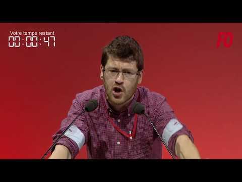 24e Congrès de FO à Lille - 24-04-2018 - Matin