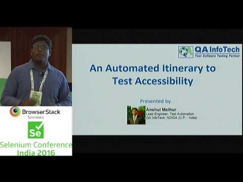 Automated Accessibility Testing