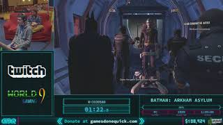 Batman: Arkham Asylum by cojosao in 1:20:49 AGDQ 2018