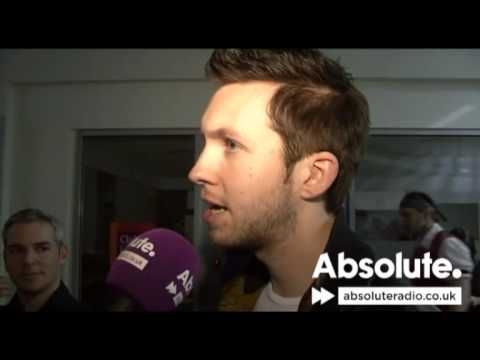 Calvin Harris interview at the BRIT Awards 2010
