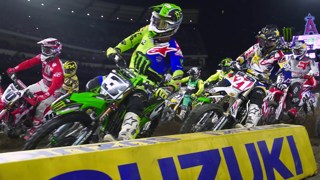 Calendrier Ama Supercross 2019.2019 Monster Energy Supercross Schedule Teaser