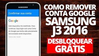 Remover conta Google Samsung J3 2016 J320M (FRP) - Desbloquear Grátis