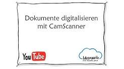 Tutorial CamScanner - Texte und Dokumente digitalisieren