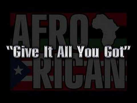 Afro-Rican - Give It All You Got (Doggy Style)