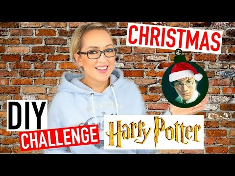 DIY Noël Facile : Deco HARRY POTTER ⚡(français) DIY Challenge