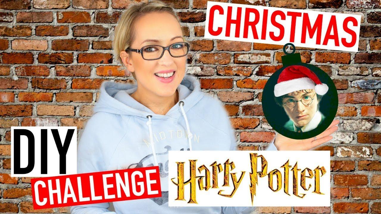 DIY Noël Facile  Deco HARRY POTTER ⚡3 (DIY Challenge)