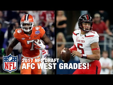 AFC West Draft Grades | Path to the Draft | NFL Network