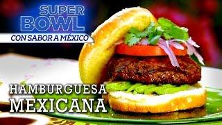 Hamburguesa Mexicana De Campeonato - El Guzzi