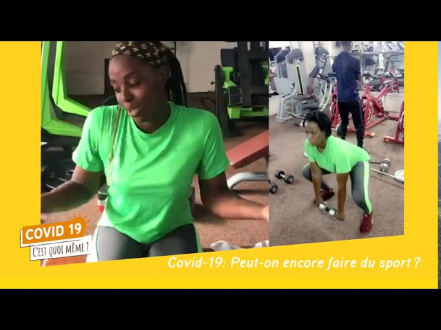C19CQM - Reporters Citoyens - les sportifs du Mali