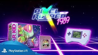 Pixel Ripped 1989 | Launch Trailer | PS VR