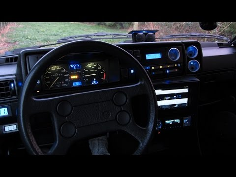 Custom Car Dashboard Interior LED Light Modify