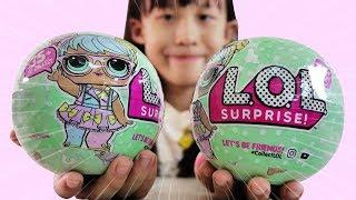 [玩具] LOL 驚喜寶貝蛋 噴水 驚喜娃娃 開箱 [蕾蕾TV] L.O.L Surprise Balls Opening ~親子互動