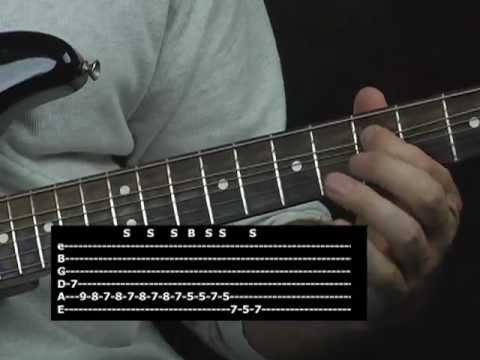 easy blues licks guitar lesson youtube. Black Bedroom Furniture Sets. Home Design Ideas