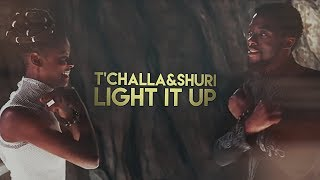 connectYoutube - T'Challa & Shuri | Light It Up