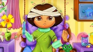 Dora the Explorer Hospital Recovery (Даша в больнице) - прохождение игры