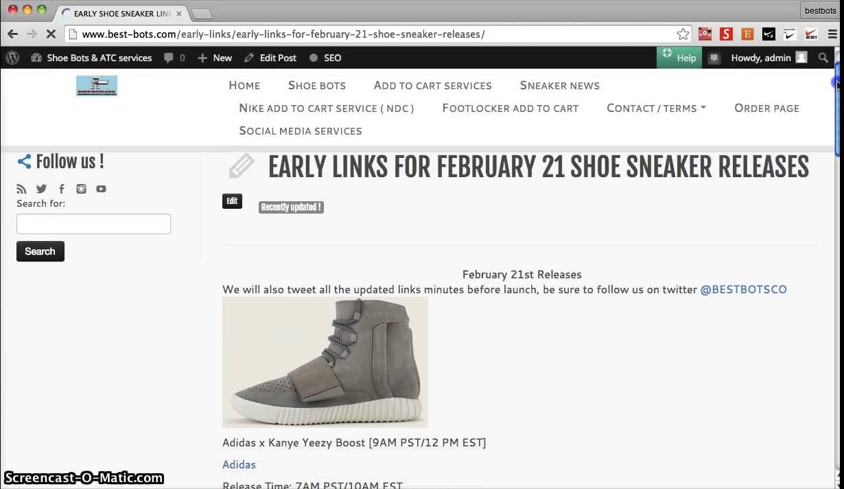 X Boost Adidas Yeezy Early Kanye Link Free L3ARqcj54