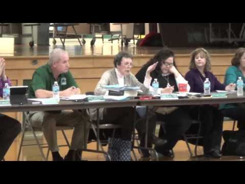 Midland School Board Meeting 11-16-15