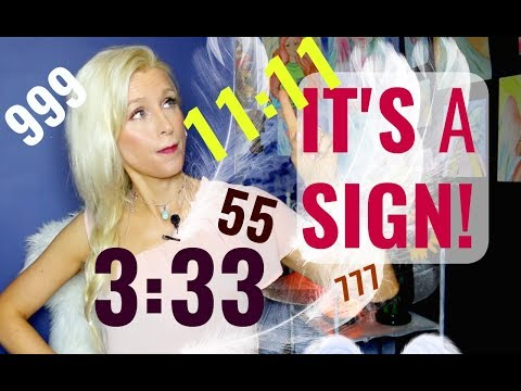 5 Most Common ANGEL NUMBERS You See And WHY
