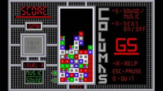 Apple IIgs - Game - Columns GS